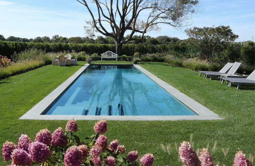 Dunemere lane east hampton flawless pools spas for Pool design hamptons